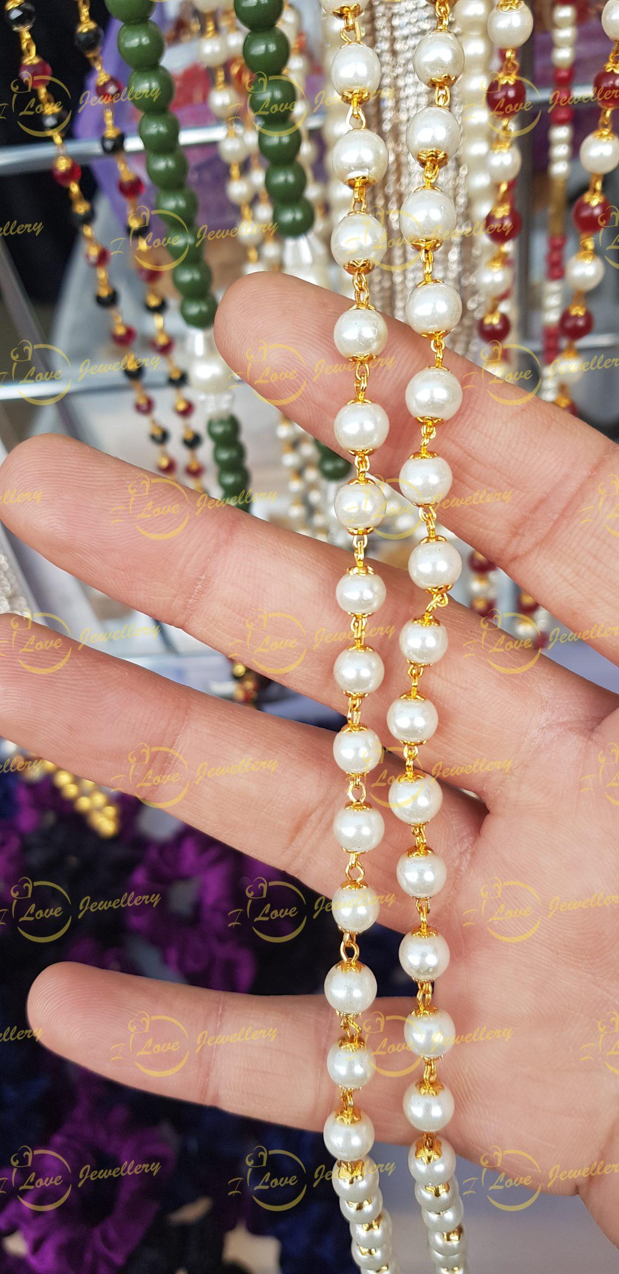 Fashion chain- pearl chain - golden chain - maroon chain - wholesale Pakistani jewellery - bespoke Pakistani jewellery - Pakistani wedding jewellery - Pakistani bridal jewellery