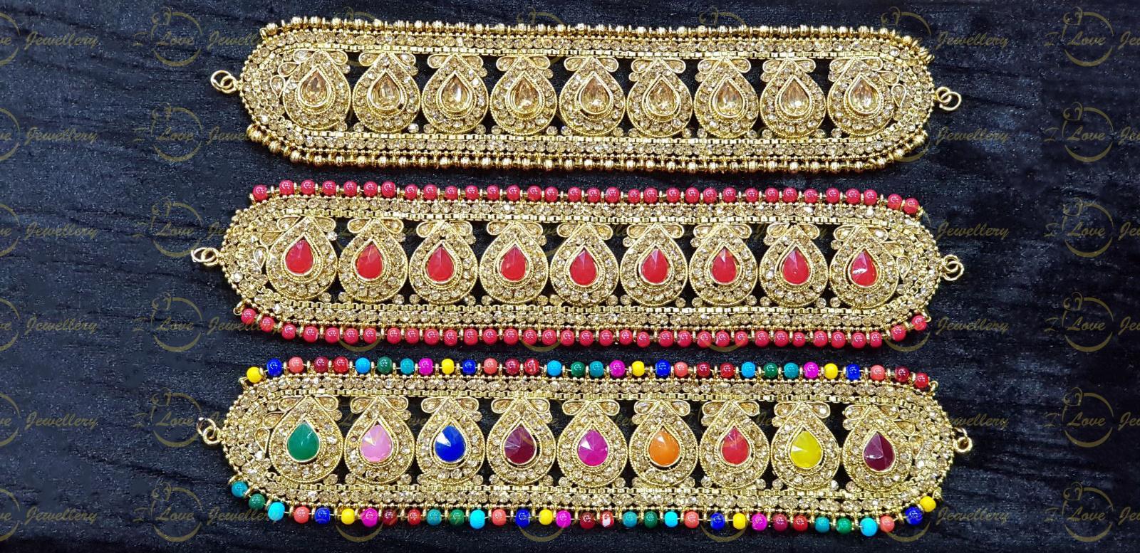 Pakistani choker - Champagne choker - mehndi choker - maroon choker - bridal chokers - wedding choker necklace - golden choker - pearl choker - wholesale Pakistani jewellery - bespoke Pakistani jewellery