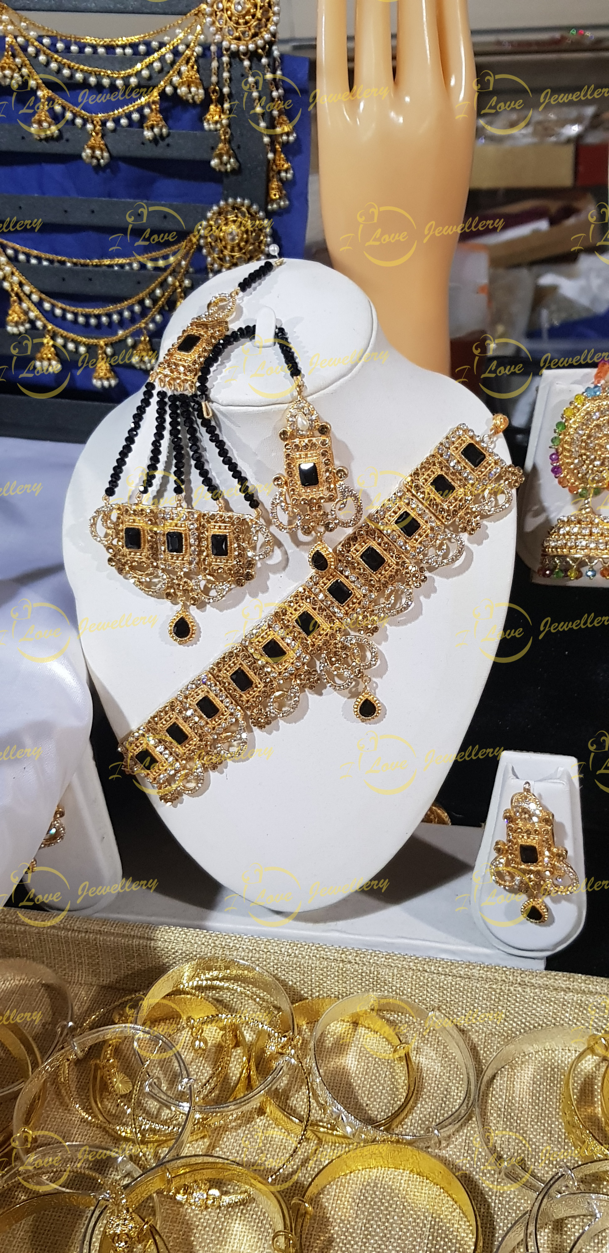 Pakistani choker - black choker - mehndi choker - bridal chokers - wedding choker necklace - golden choker - Champagne choker - pearl choker - wholesale Pakistani jewellery - bespoke Pakistani jewellery