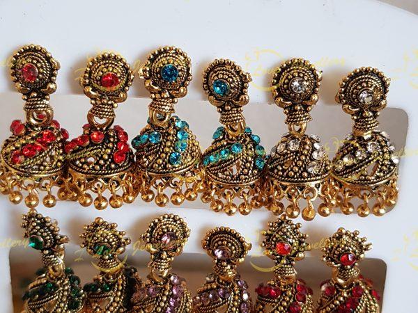 Small Jhumki Earrings
