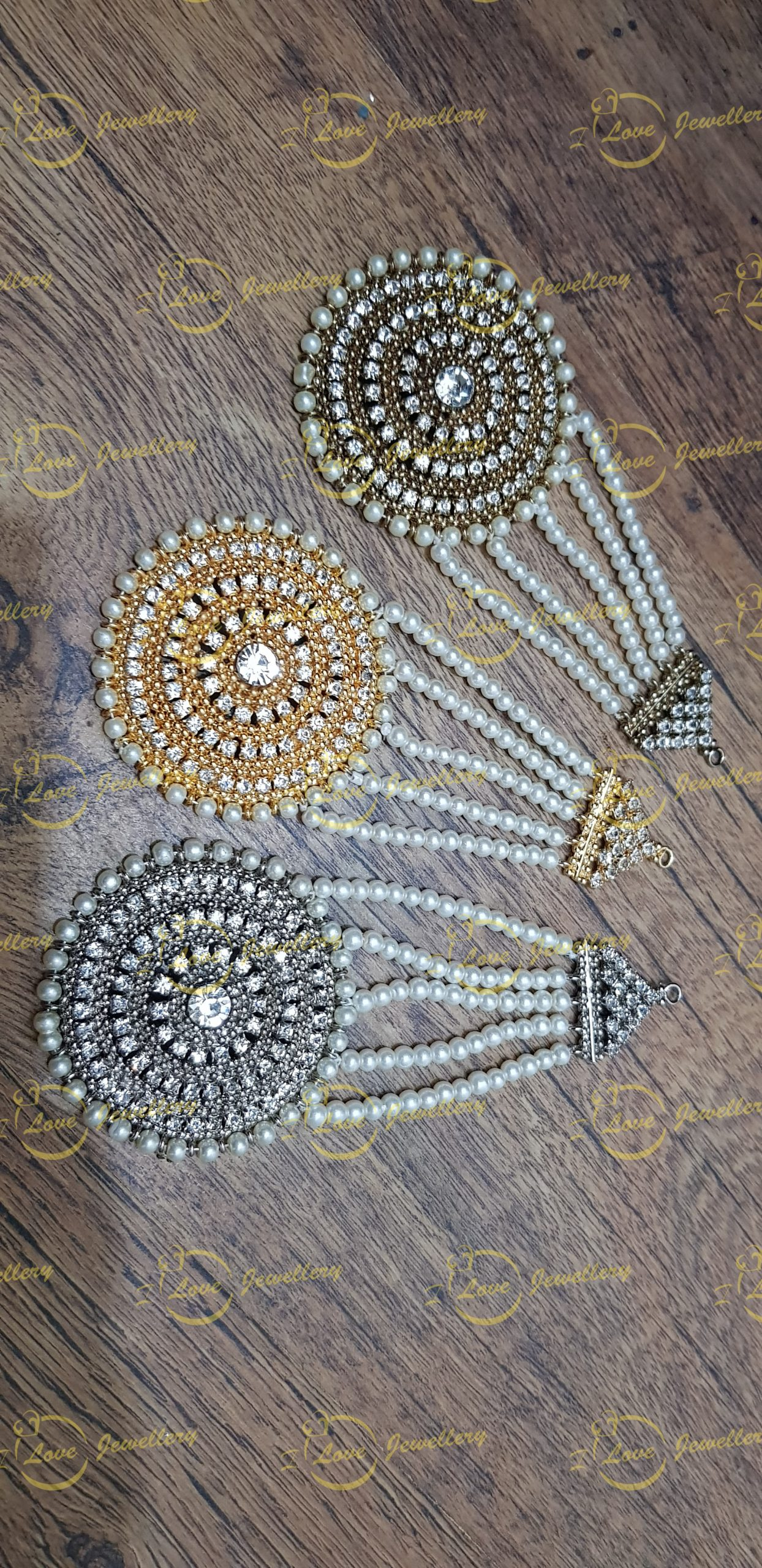 golden Jhoomar - silver jhoomar - antique jhoomar - wholesale Pakistani jewellery - bespoke Pakistani jewellery