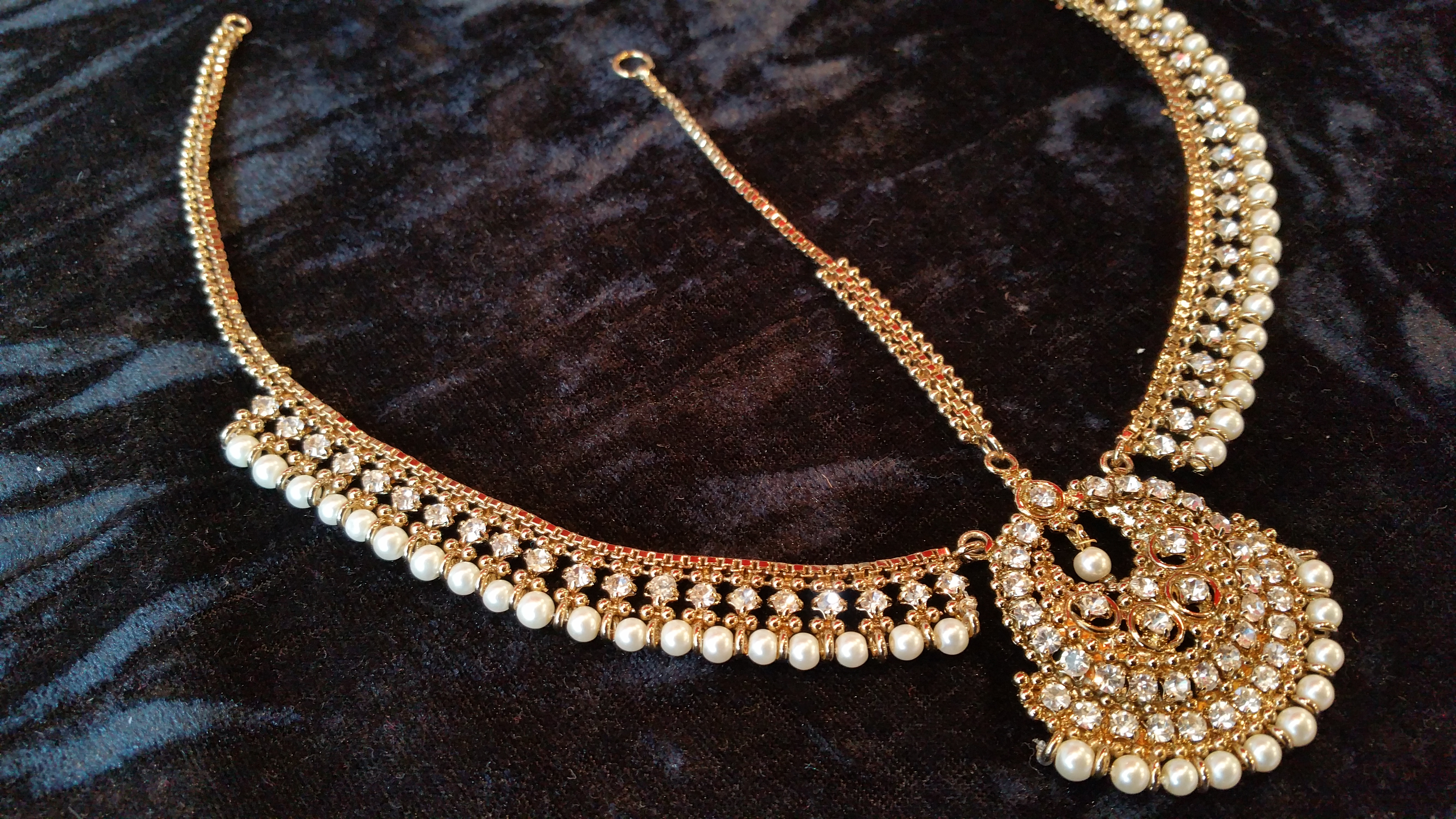 front matha pati - head jewellery - wholesale Pakistani jewellery - bespoke Pakistani jewellery