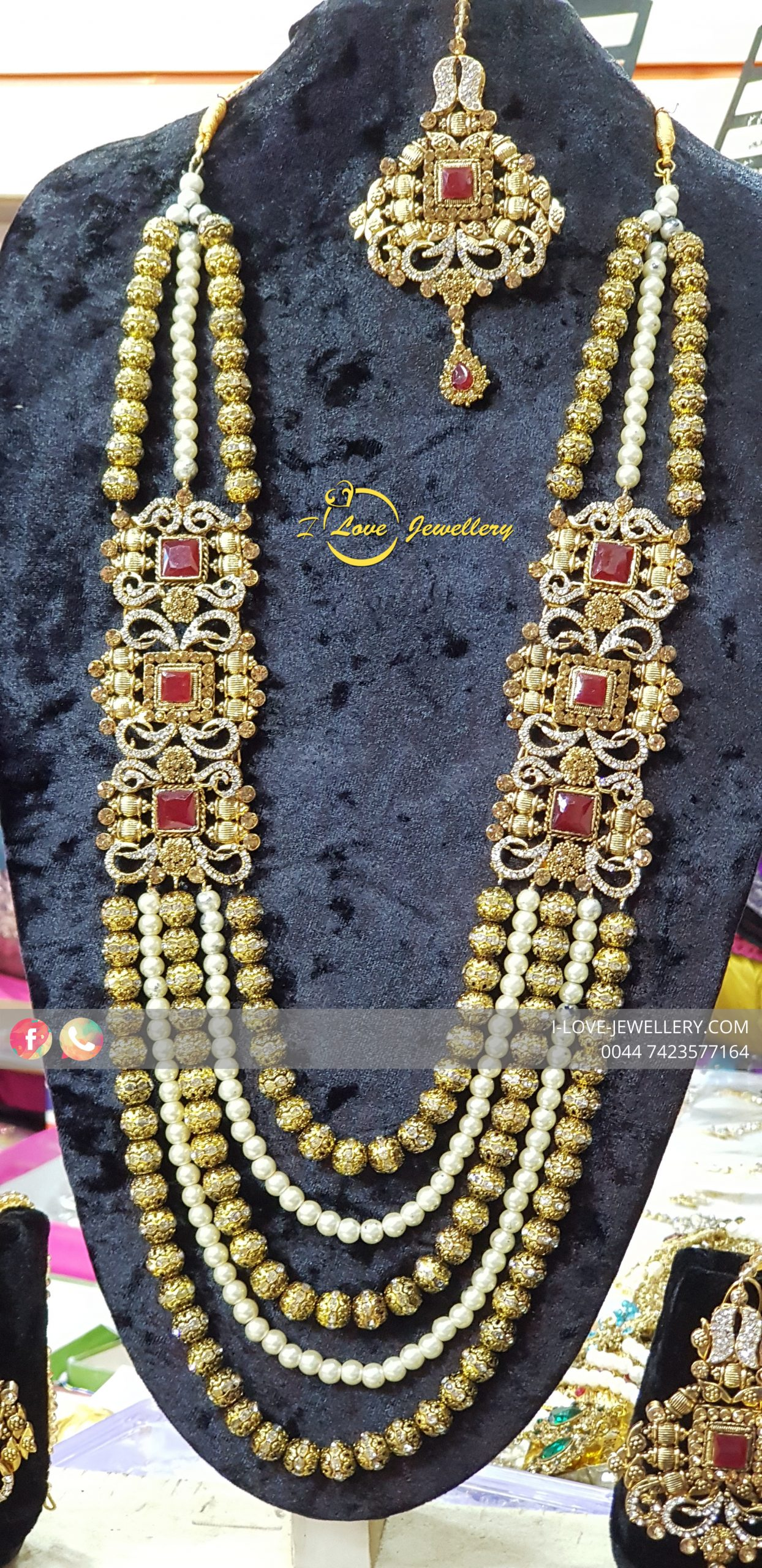 Pakistani bridal jewellery - maroon bridal necklace - bridal chokers - bridal mala - mehndi jewellery - Pakistani wedding jewellery - Pakistani bridal jewellery - wholesale Pakistani jewellery - bespoke Pakistani jewellery