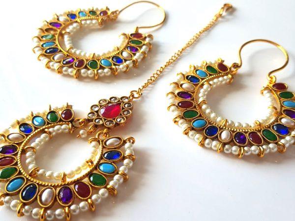 Earrings Tikka Set